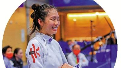 第十四屆全運會 江旻憓為港隊添銅牌