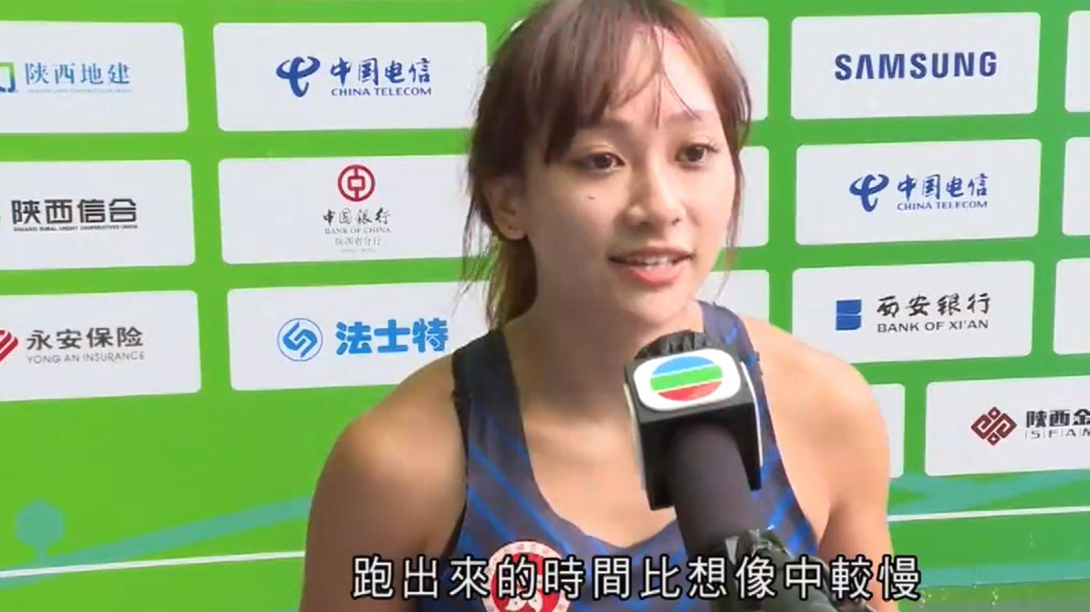 港隊乒乓混雙兩組合止步32強 陳佩琦200米初賽被淘汰