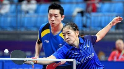 十四運會乒乓單項比賽全面展開 港隊首輪三項比賽遺憾出局