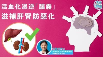 活血化濕逆「腦霧」 滋補肝腎防惡化