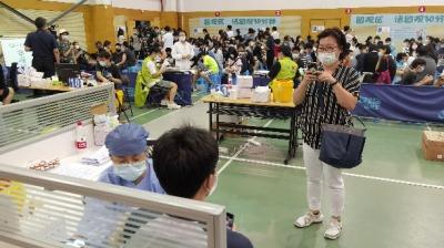 滬啟動6-11歲人群新冠疫苗接種