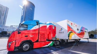 中國首台完整知識產權雪蠟車在京交付