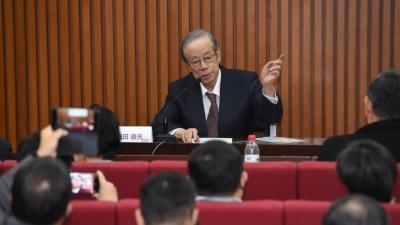 日本前首相福田康夫駁新冠中國起源論 籲改善對華關係