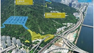 沙田污水處理廠新處理廠預計2029年投入使用