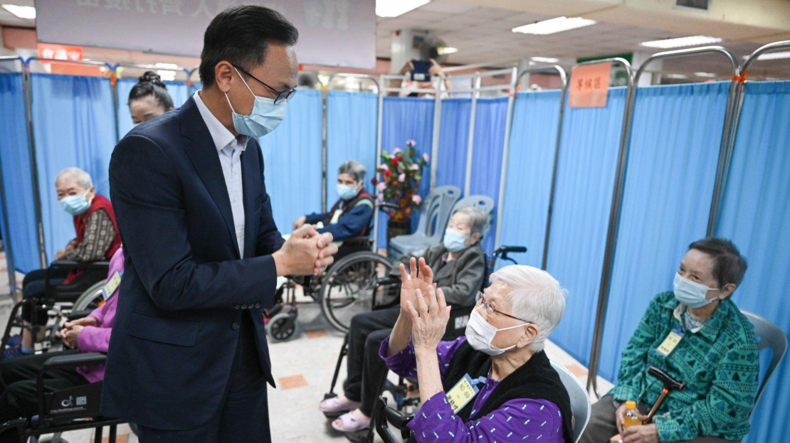 香港逾460萬人已打首針 接種率近七成