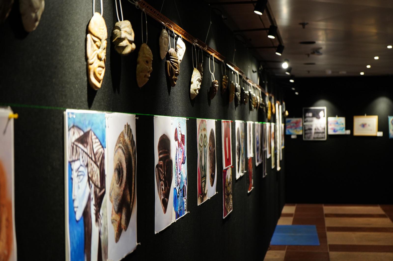 50件史前面具 講述遠古人類故事