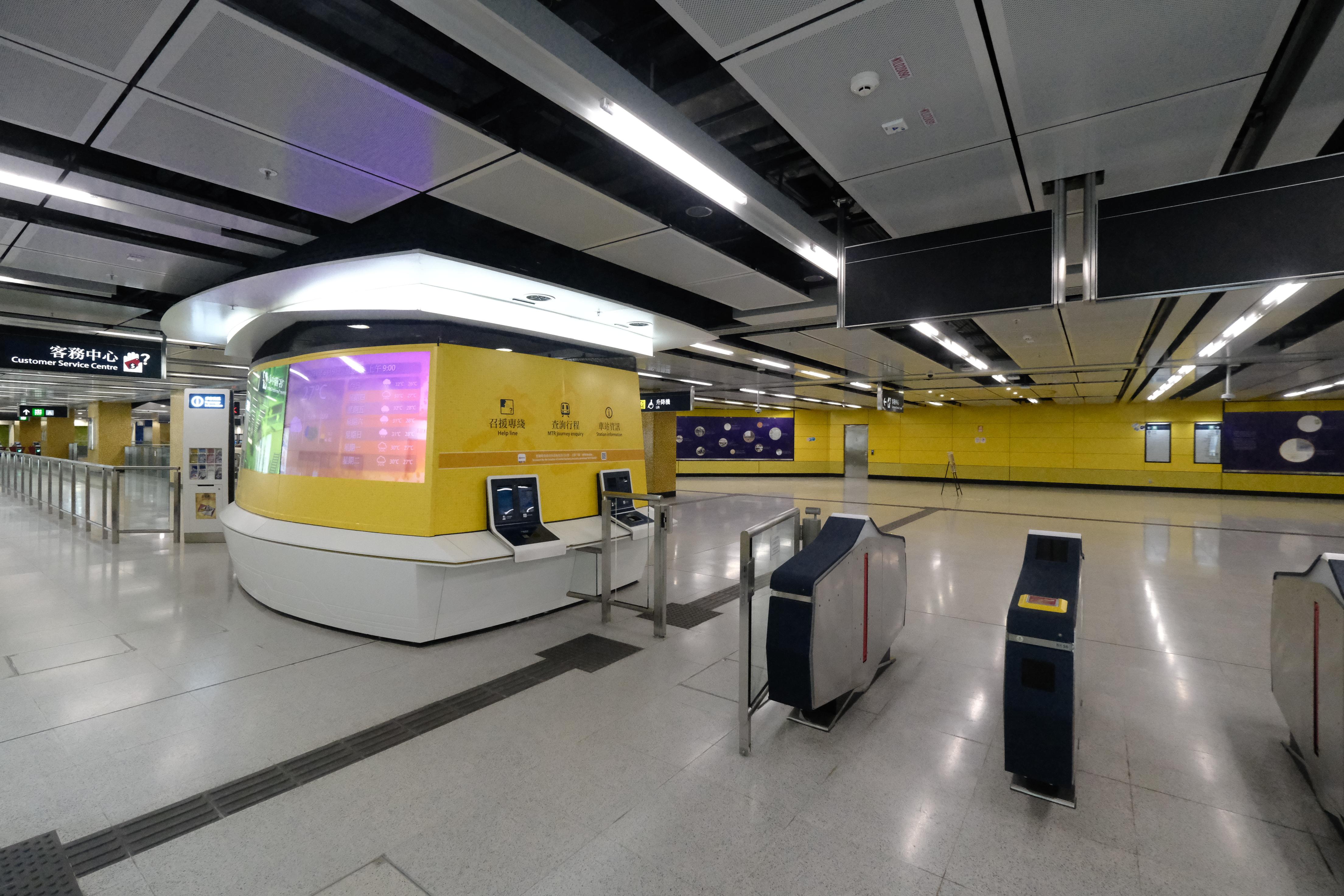 宋皇臺站在建造期間發現大量文物,車站設計揉合考古元素。(文匯報陳大文攝)