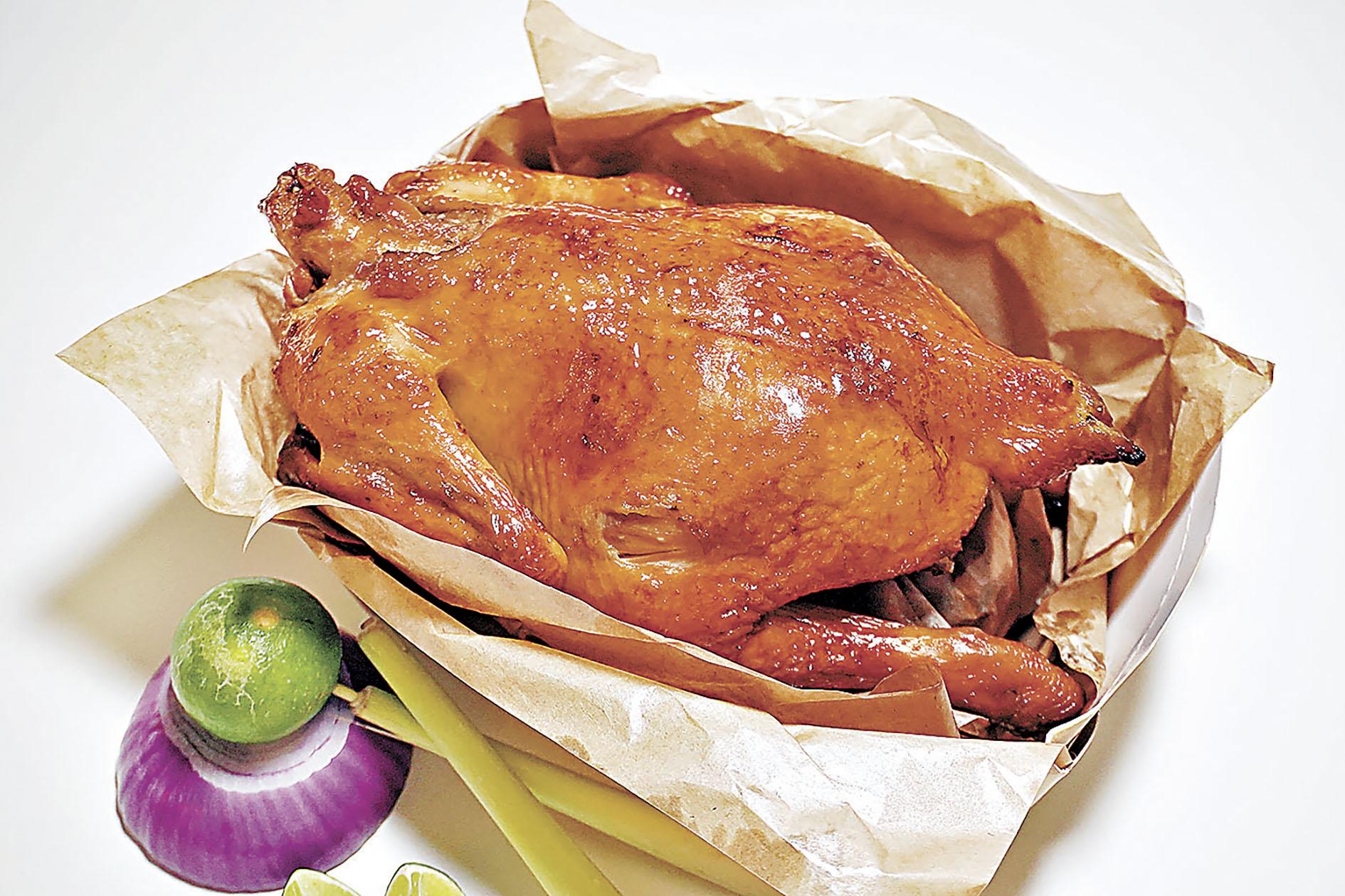 ■越式香茅烤雞(全隻) 188元。