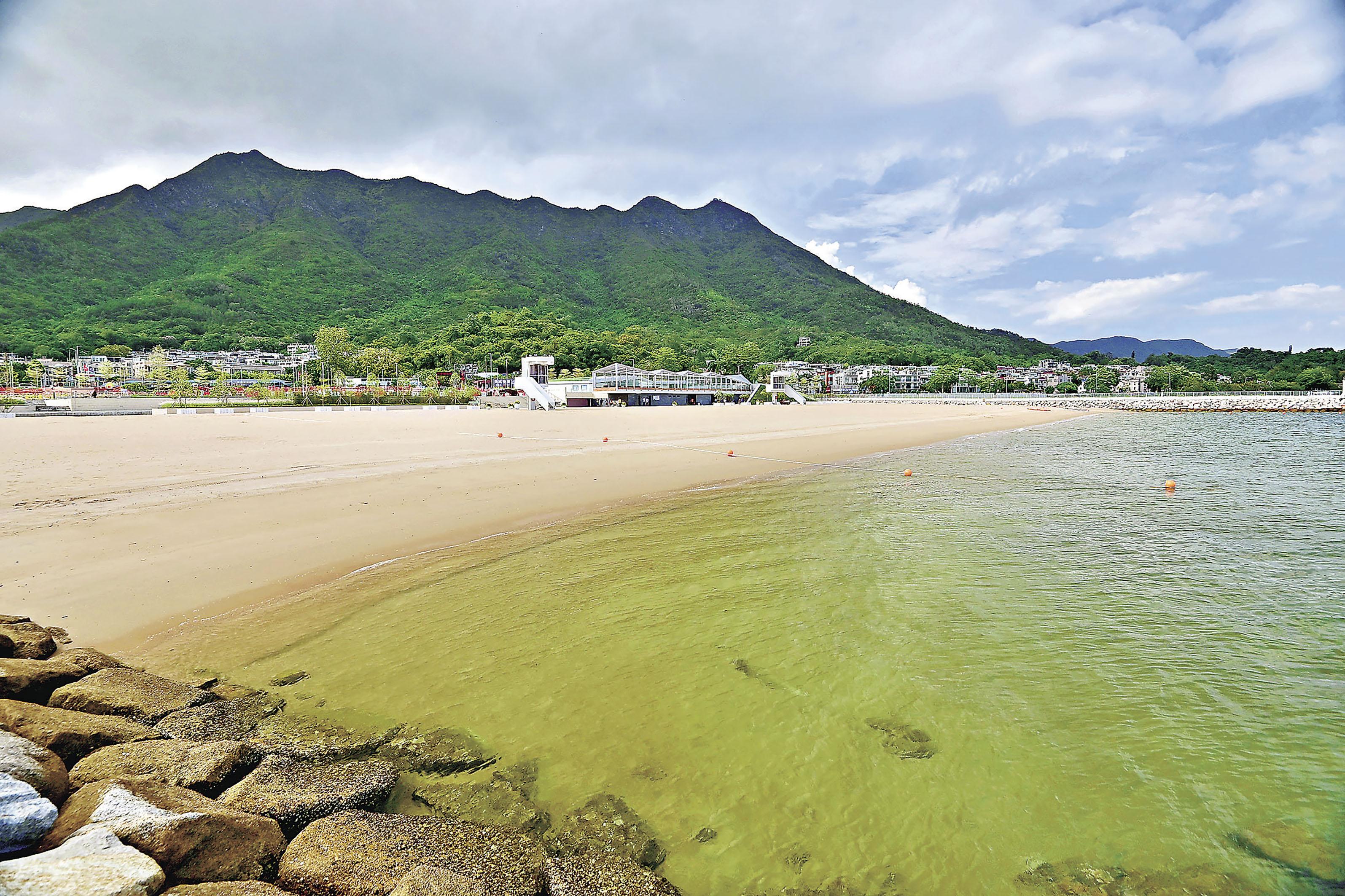 ■環保署評估泳灘水質維持在最高「良好」(一級)等級。