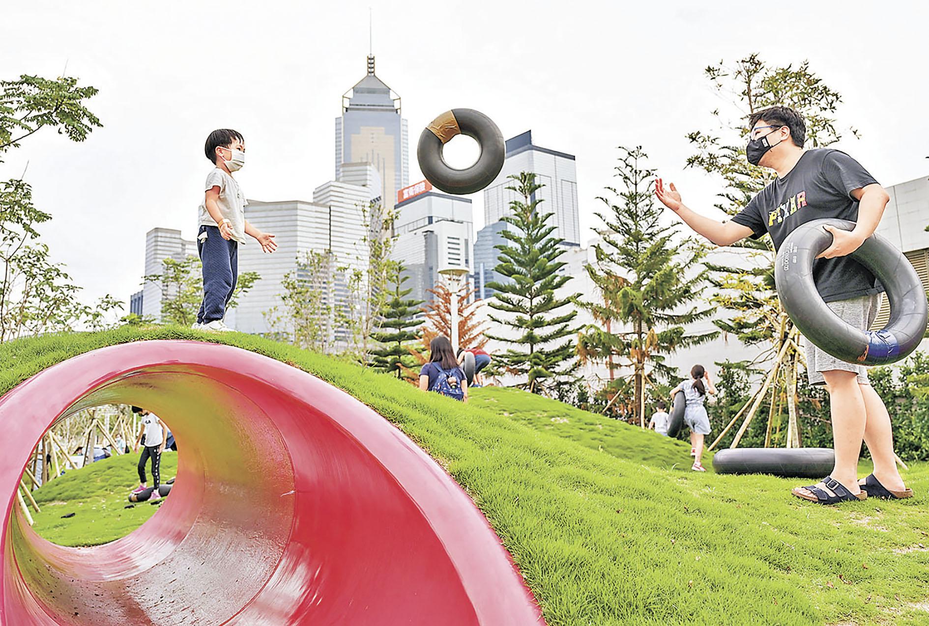 ■童樂園活動區(灣仔海濱長廊)