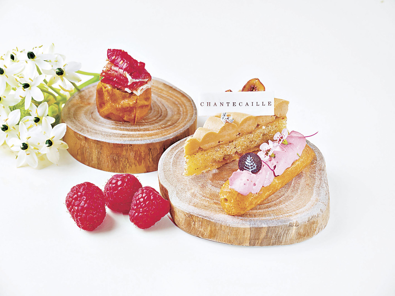 ■一系列鹹甜美點。