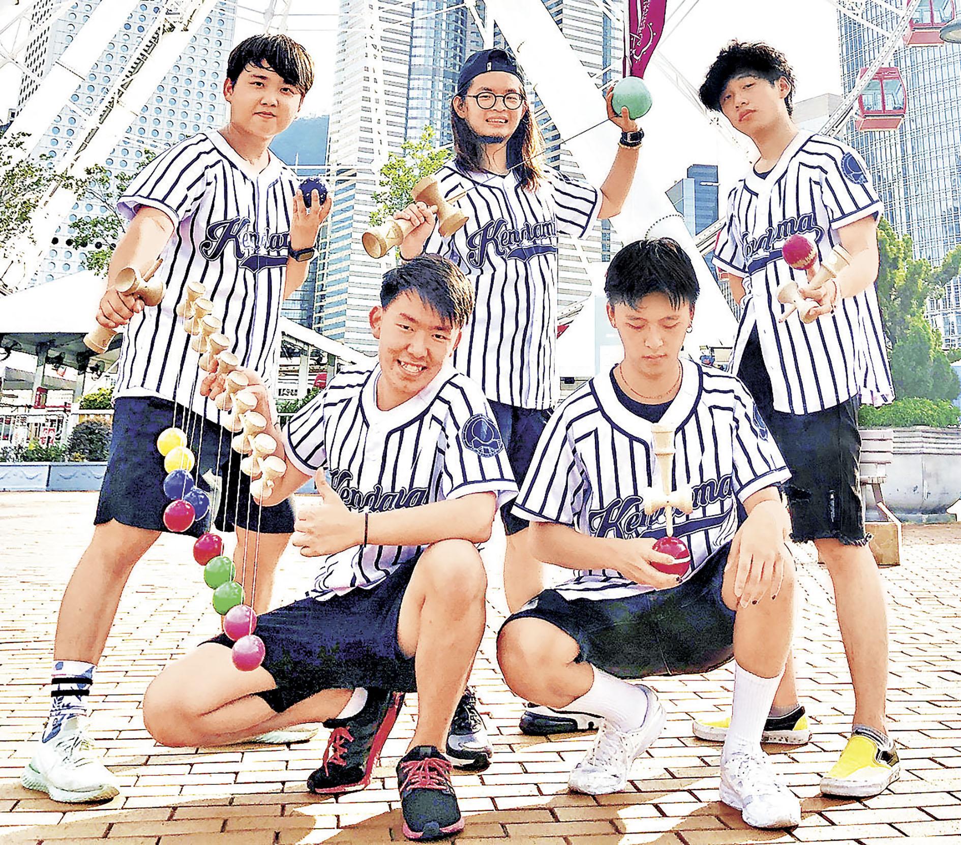 ■香港花式劍球協會的劍玉兄弟將現身表演。